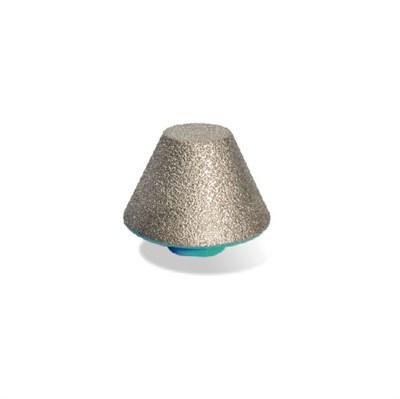 Фреза алмазная конусная (сверло шарошка алмазное коническое) BIHUI, 20-48мм - фото 4925