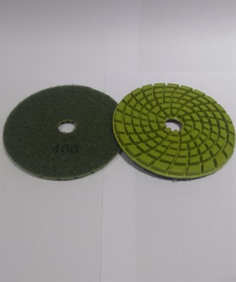 АГШК Алмазный гибкие круги Ø 100 мм (1шт.) #400 ПРЕМИУМ - фото 5147